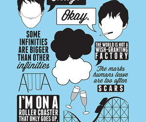 john green, okay, and the fault in our stars image