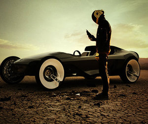 car, daft punk, and photography image