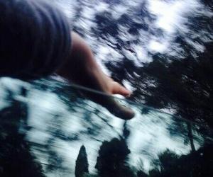 tumblr, hand, and grunge image