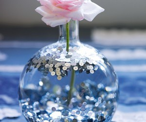 flower and glitter image