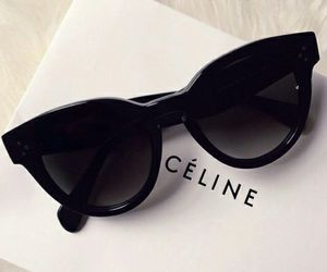 celine, sunglasses, and fashion image