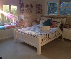 bedroom, room, and cute image