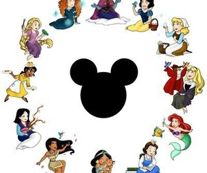 princess and disney image