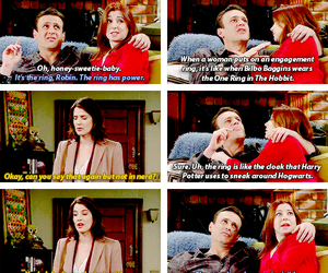 funny, quotes, and himym image