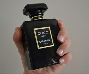chanel, perfume, and black image
