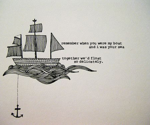 anchor, boat, and quote image