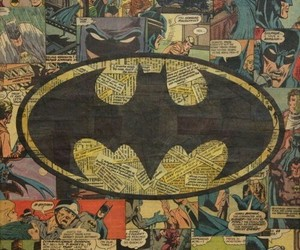 batman, comic, and hero image