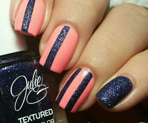 fashion, glam, and nails image