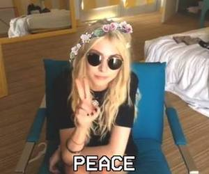 peace, Taylor Momsen, and the pretty reckless image