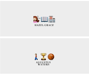 isaac, the fault in our stars, and hazel image