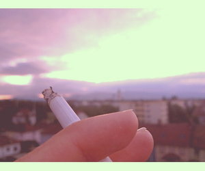 cigarettes, sunset, and city image