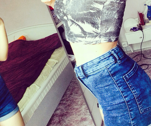 body, jeans, and outfit image