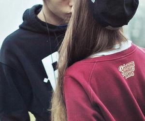 boyfriend, happiness, and kiss image