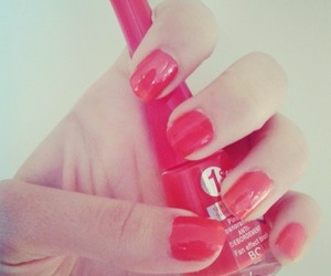 sexy nails red beautiful image