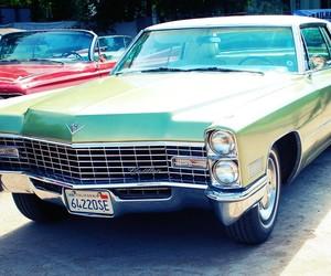 auto, cadillac, and green image