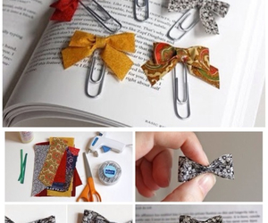 diy, book, and bookmark image