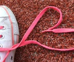 heart, pink, and shoes image