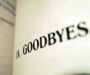 book, goodbye, and text image