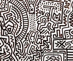 keith haring and not fucking harris image