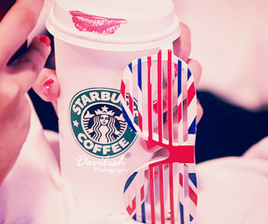 delicious, lips, and starbuck coffee image