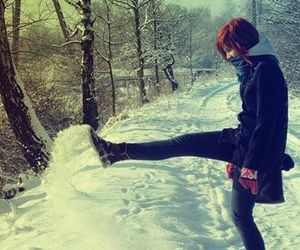 snow, paramore, and hayley williams image