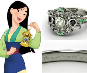 disney, ring, and mulan image