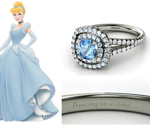 cinderella, ring, and disney image