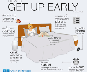 early, get up, and how to image