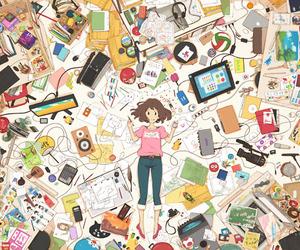 anime, art, and kawaii image