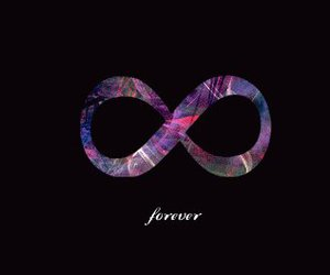 forever, infinity, and infinite image