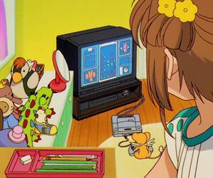 anime, sakura, and sakura card captors image