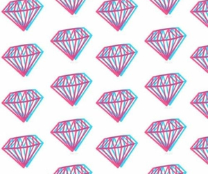 3d, background, and diamonds image
