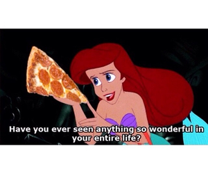 food, forever, and little mermaid image