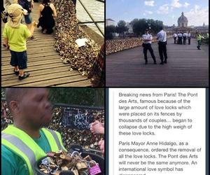 locks, sad, and love image