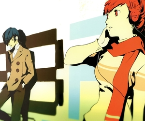 anime and persona 3 image