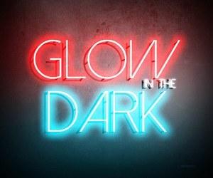 dark, glow in the dark, and music image
