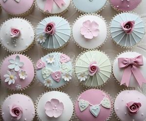 cupcake, sweet, and pastel image