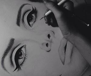 art, drawing, and lana del rey image