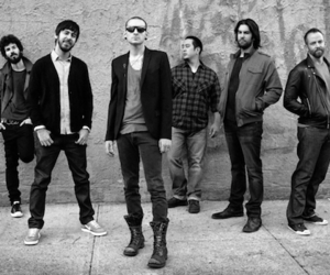 band, linkin park, and rock metal image