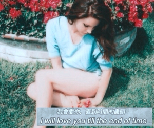 blue jeans, lana del rey, and love image