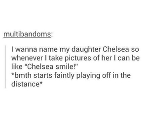 bmth, bring me the horizon, and chelsea smile image