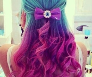 curls, purple, and cute image