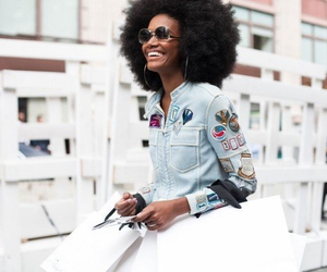 Afro, fashion, and style image