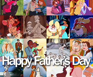 disney, father, and day image