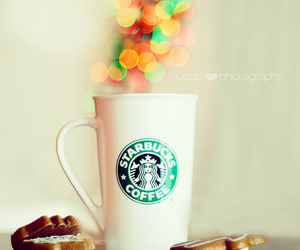coffee, starbucks, and food image