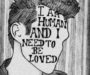 love, human, and quote image