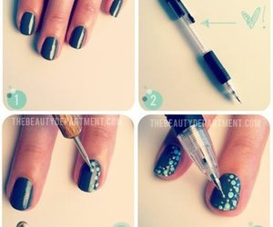 bubbly, designs, and nails image