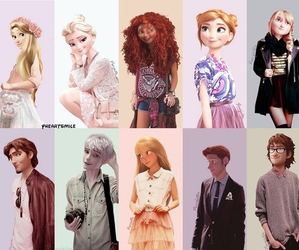 disney, rapunzel, and frozen image