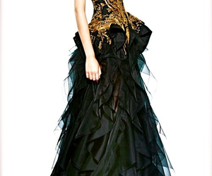 dress, fashion, and Alexander McQueen image