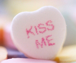candy, kiss, and heart image